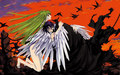 the angel & the demon - lelouch-and-cc wallpaper