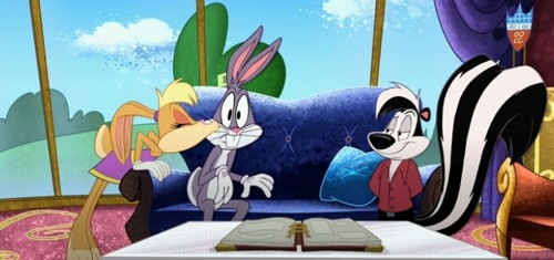 The Looney Tunes Zeigen Hintergrund possibly containing Anime titled the looney tunes Zeigen