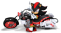 this is just shadow - shadow-the-hedgehog photo