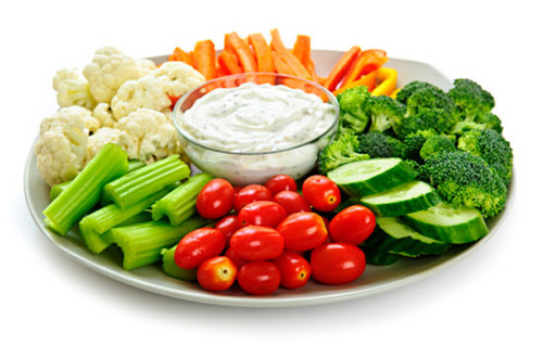 veggies- roasted and fresh