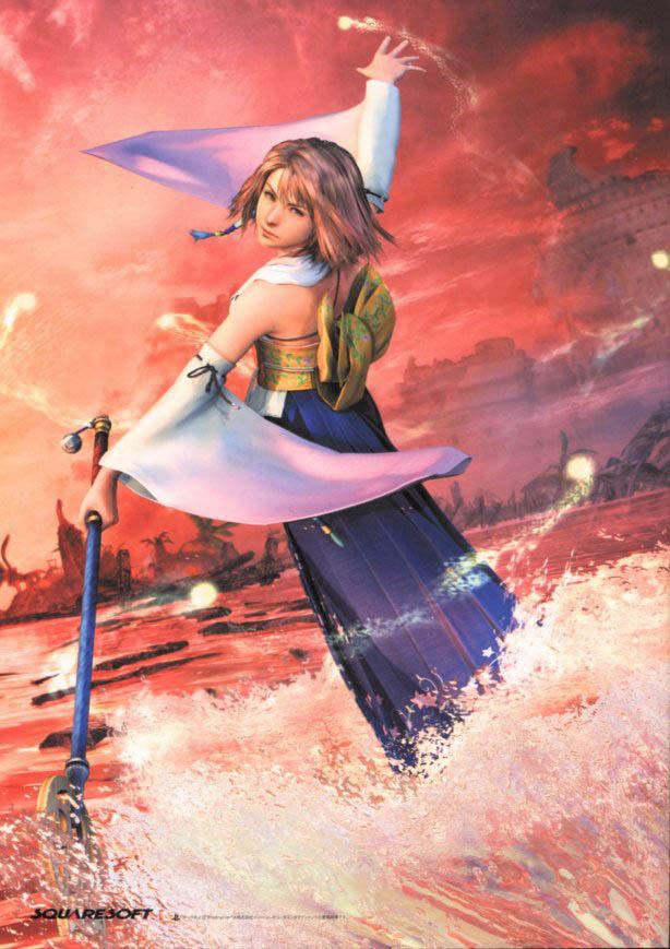 yuna sending - Final Fantasy 1-13-2 Fan Art (29117882 ...