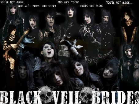 bvb 壁纸 with 日本动漫 titled <3Black Veil Brides<3