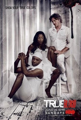 'Show Your True Colors' - True Blood S4 Poster
