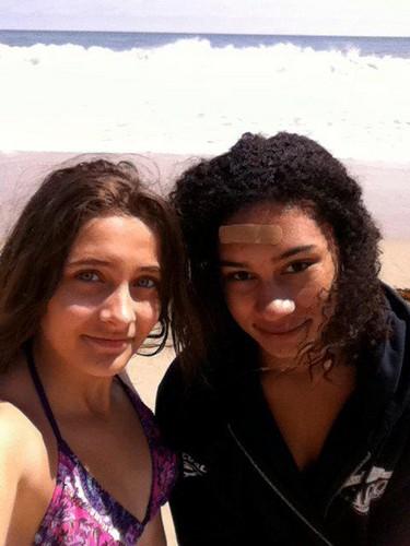 :) paris and Michaela