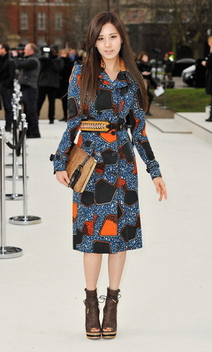 120220 [Photo/Video/Fancam/Fan Taken] ロンドン Fashion Week - Burbery Prorsum 表示する @ Seohyun