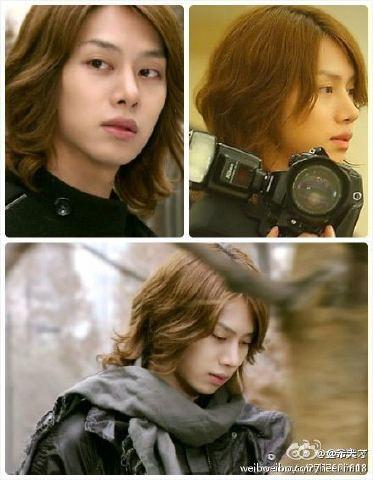 120222 Heechul Weibo Update: NEW HAIR!