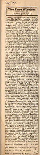 1919 News Arrticle - The True Wireless 4
