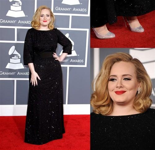Adele @ The 54th Grammy Awards