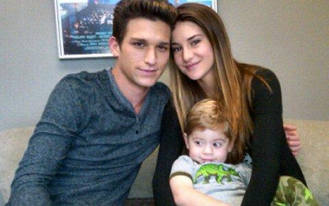 Amy,Ricky and John- one happy family