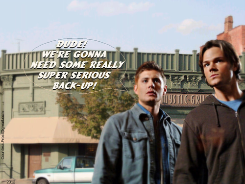 Arriving in Mystic Falls - supernatural Wallpaper