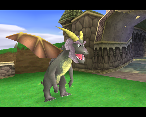 Spyro The Dragon achtergrond called Astor