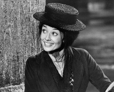 Audrey Hepburn as Eliza Doolittle