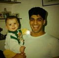 Baby Zayn and his dad :))