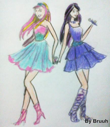 Barbie, die Prinzessin und der Popstar
