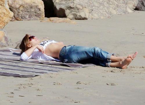 spiaggia in Malibu [5 February 2012]