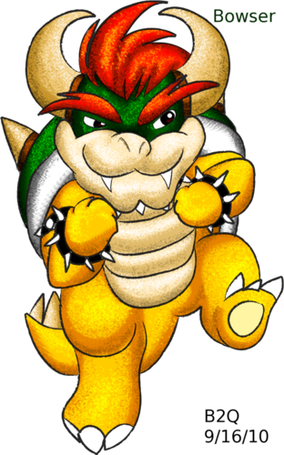 Bowser - nintendo-villains Fan Art