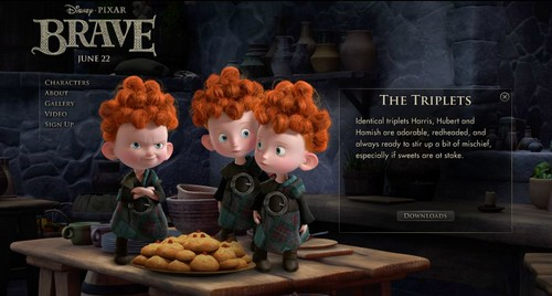 Ribelle - The Brave Characters