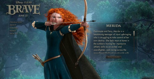 Merida - Legende der Highlands Characters