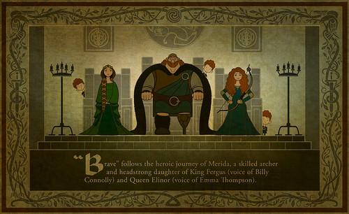 Merida - Legende der Highlands Promotional Tapestries