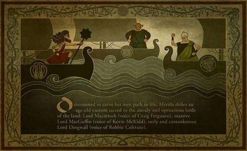 メリダとおそろしの森 Promotional Tapestries