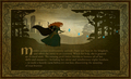 Merida - Legende der Highlands Promotional Tapestries