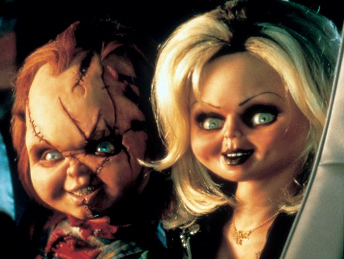 Bride of Chucky wallpaper probably with a portrait titled Bride of Chucky