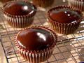 Chocolate Cheesecake Cupcakes - chocolate photo