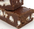Chocolate Marshmallow Fudge - chocolate photo