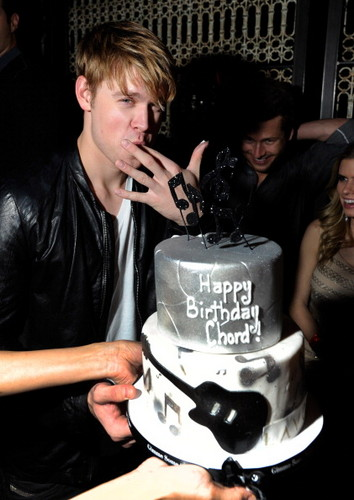 Chord's bday party in Las Vegas