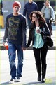Chris Zylka in Vancouver with Lucy Hale