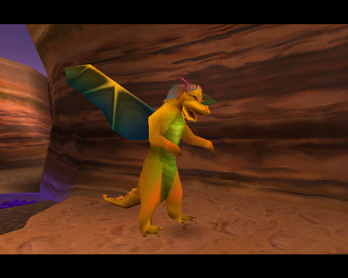 Spyro The Dragon kertas dinding possibly containing a bouquet called Conan