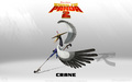 Crane Wallpaper - kung-fu-panda wallpaper
