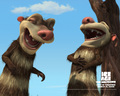 Crash and Eddie - ice-age-2-the-meltdown wallpaper