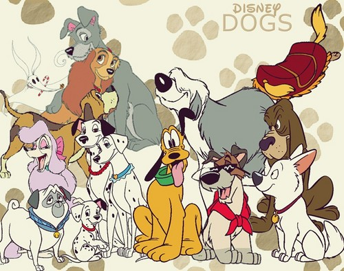 Disney wallpaper probably containing Anime called Disney Cani
