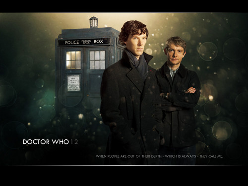 Doctor Sherlock - wholock Wallpaper