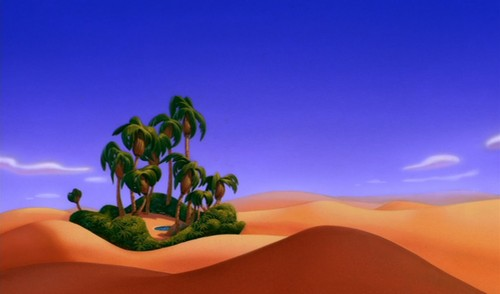 Disney Crossover Wallpaper Probably Containing Skin Called Empty Backdrop From Aladdin