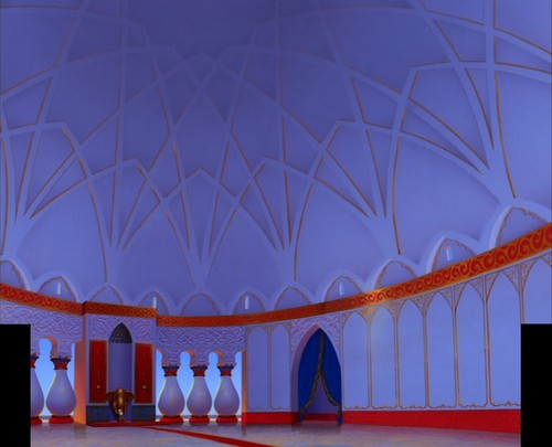 Disney Crossover Wallpaper Called Empty Backdrop From Aladdin
