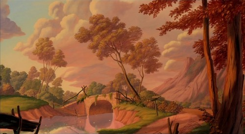 Disney Crossover Wallpaper Called Empty Backdrop From Beauty And The Beast