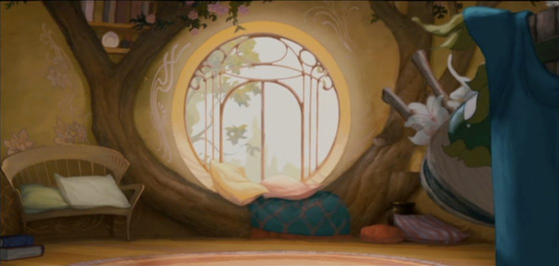Empty Backdrop From Enchanted Disney Crossover Image