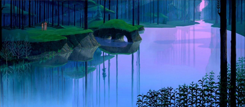 Empty Backdrop From Pocahontas Disney Crossover Image