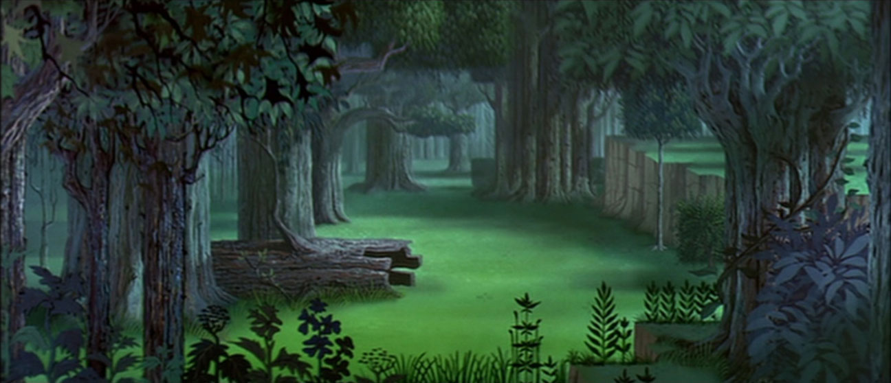 Crossover Disney Immagini Empty Backdrop From Sleeping Beauty Hd