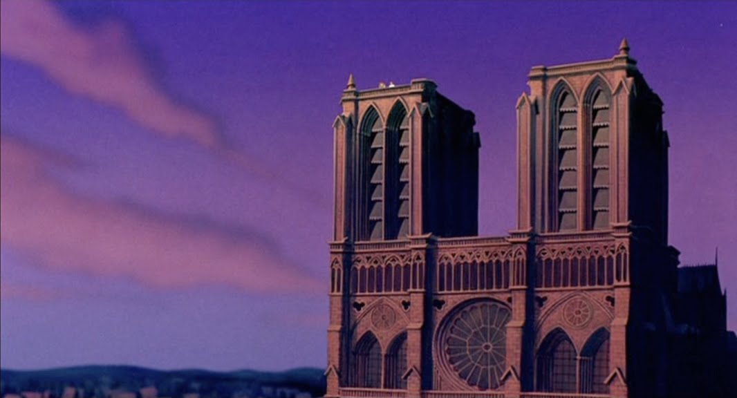 Empty Backdrop from The Hunchback of Notre Dame