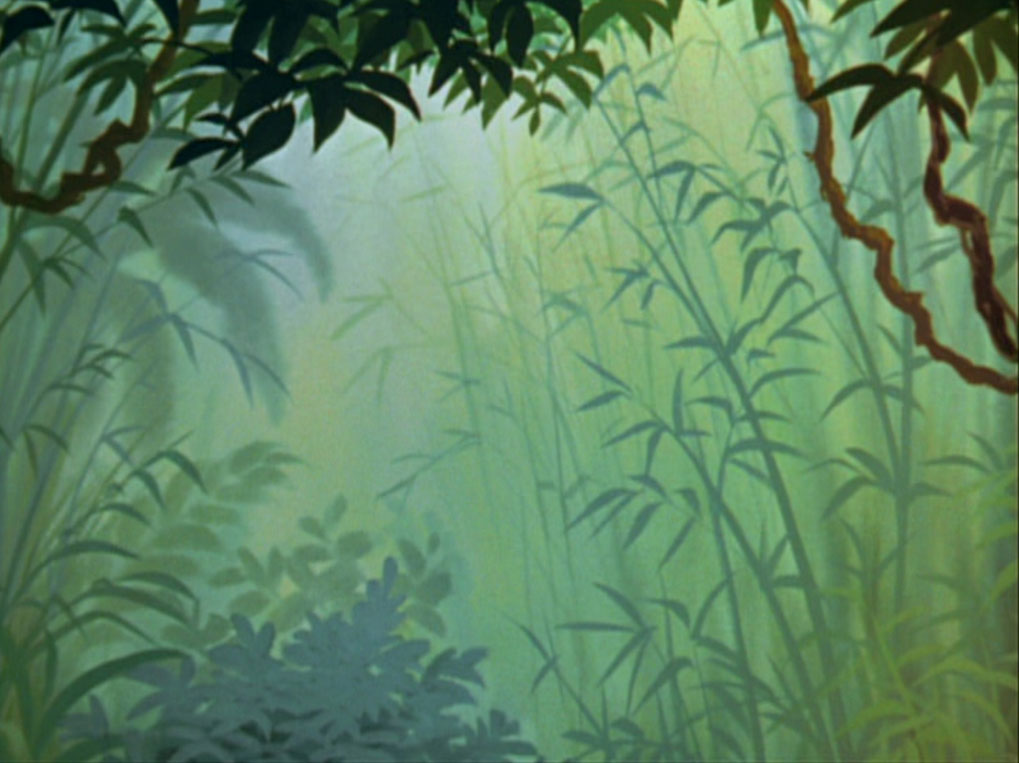 Empty Backdrop from The Jungle Book