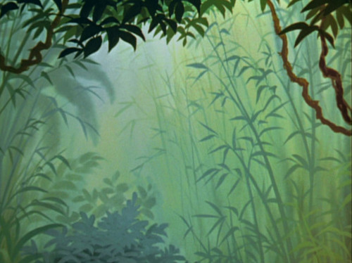 disney crossover wallpaper called Empty Backdrop from The Jungle Book
