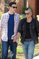 Filming in LA - mark-salling photo