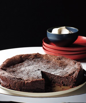 Flour-less tsokolate Cake