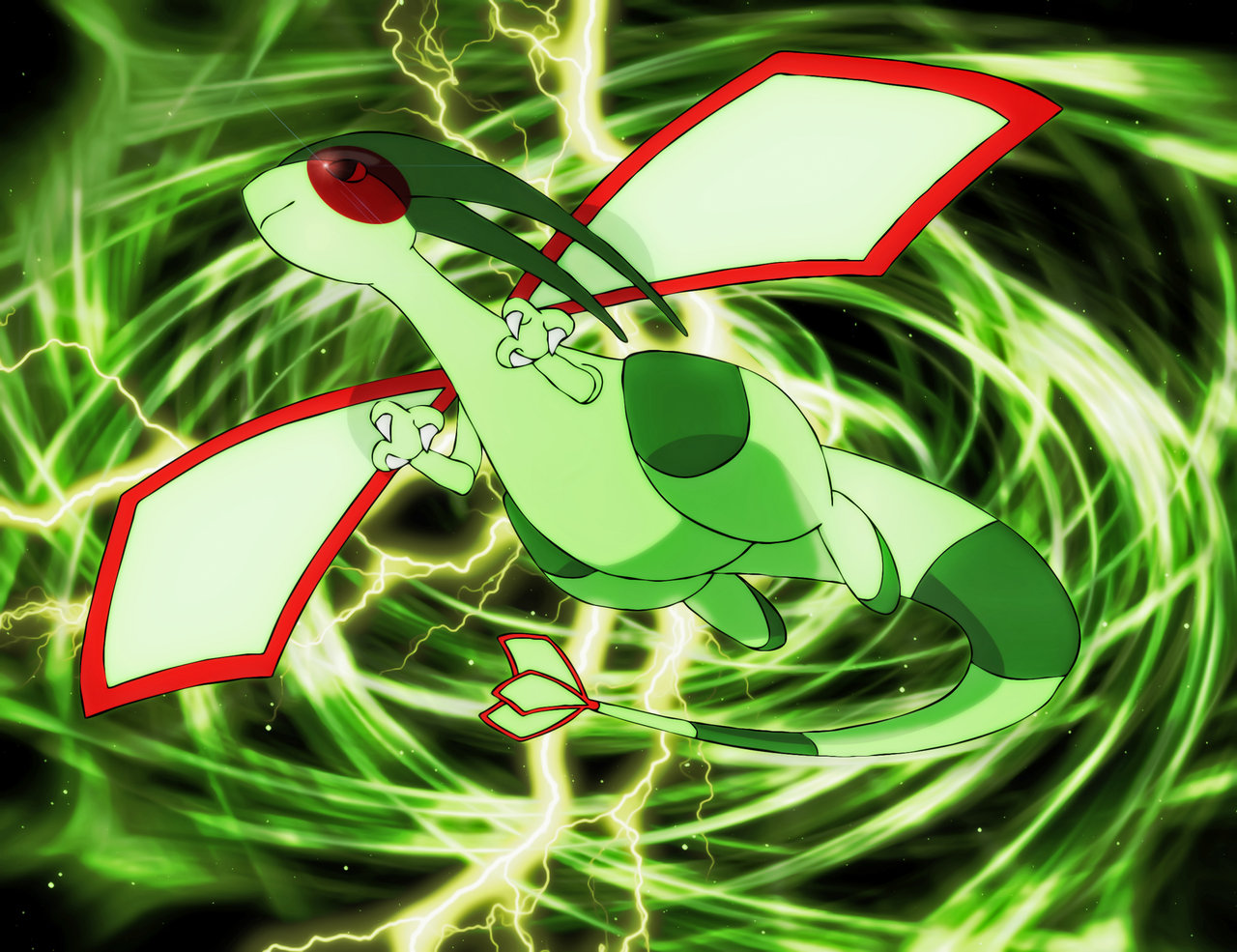 Dragon-Type Pokemons images Flygon WP HD wallpaper and ...