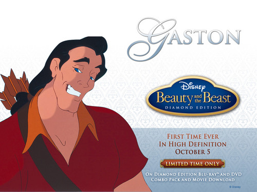 Disney-Bösewichte Hintergrund probably containing Anime entitled Gaston
