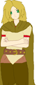 Gaul - hetalia-fan-characters fan art