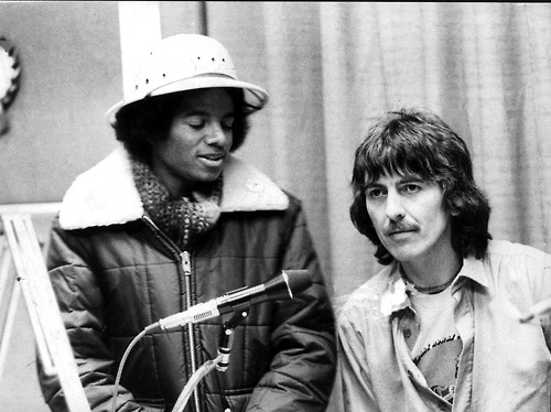George and Michael Jackson